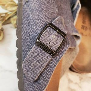 Birkenstock Shoes - Birkenstock Clog Wool 7-7.5 Great Condition